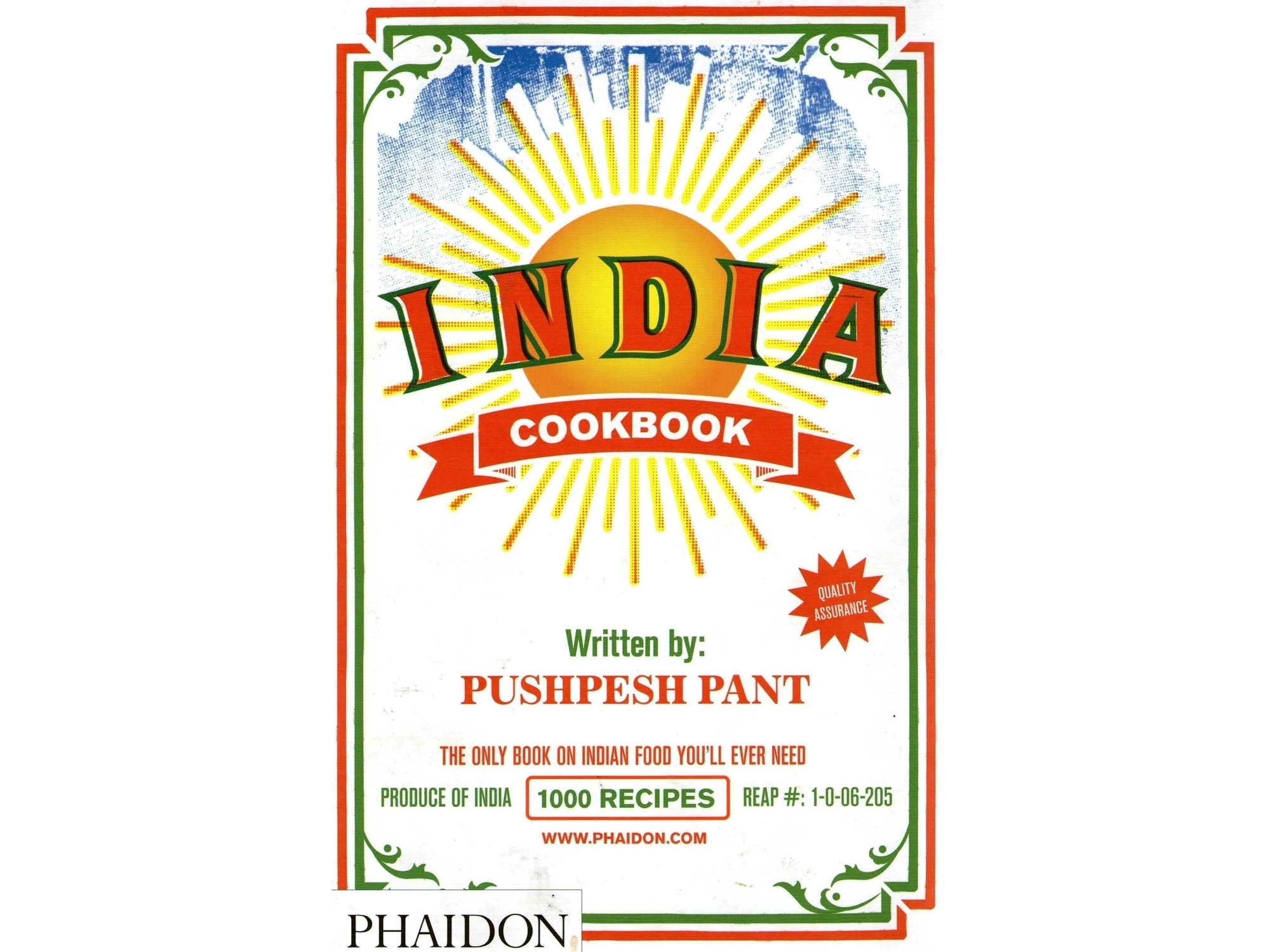 The cover of Pushpesh Pant's India