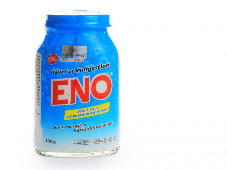a jar of Eno fruit salts