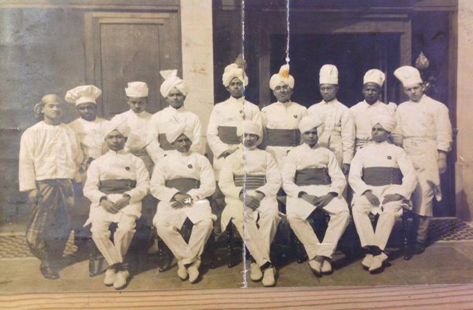 the original chefs from the Veeraswamy restaurant